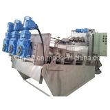 Máquina de desecación de tornillo del lodo multidisco de la prensa (MDS313)