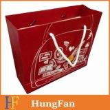 Подгонянная хозяйственная сумка напечатанная конструкцией бумажная для подарка