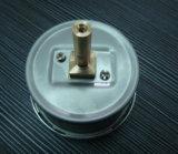 Jauge à basse pression CMH2o de 63 mm pour gaz avec connexion spéciale