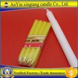 Velas Vela-Coloridas de Velas de las velas del color amarillo