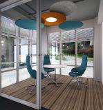 Uispair modernes hängendes Wolle-akustisches Panel im fehlerfreie Absorptions-Isolierungs-Material für Büro-Hotel-Ausgangsdekoration