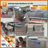 Chaîne de montage semi-automatique pommes chips de fritures/pommes chips machine de fritures