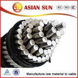 Obenliegender Aluminiumleiter der krähe-ACSR