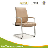 Cadeira de aço cromada da conferência da parte traseira do meio (D657)