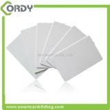 Scheda di frequenza ultraelevata H3 RFID della lunga autonomia del PVC dello spazio in bianco di basso costo