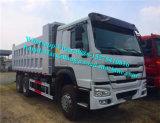 Sinotruck HOWO/A7 6X4の頑丈なダンプカーかダンプトラック336/371HPフィージージブチ