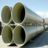 Grand tube de fibre de verre de diamètre et pipes de FRP