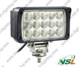 2012 Nouvelle arrivée 12V 24V 45W 6'' Lampe de travail LED avec faisceaux étroits et faisceau large pour machines agricoles, de camions, de bateaux