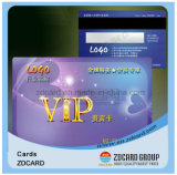 Drucken Kurbelgehäuse-Belüftung Plastik-VIP kardiert Geschenk-Karten
