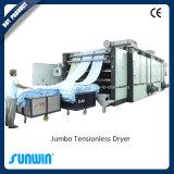 Máquina libre del secador de la tensión de la materia textil del aire caliente con la calefacción de vapor