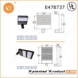 UL Dlc IP65 Parking Lot Outdoor 100W LED Shoe Box Light