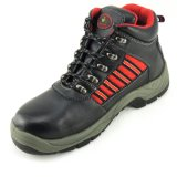 Tapa de acero y suela interior Suede Leather Safety Work Shoes