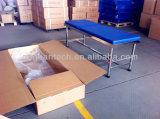 뒤에 의하여 조정되는 파란 매트리스 의학 검토 침대 처리 테이블 (AG Ecc01)