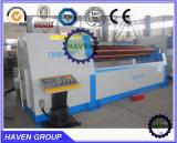 Machine à cintrer de roulis de plaque du rouleau W12S-4X3000 quatre