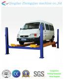 Ascenseur hydraulique de voiture de poteau quatre de certificat de la CE