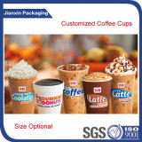Подгоняйте чашку молока кофейной чашки с логосом
