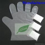 [ديسبوسبل غلوف] [ب] قفازات بلاستيكيّة مع اثنان أصابع لأنّ طبيّة