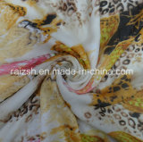 Tela de seda de imitación Chiffon impresa poliester