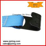 "A cinta da catraca/amarra para baixo com ganchos lisos 3 de "" azul X 20 '"
