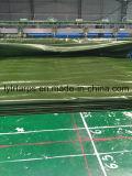 Folha plástica verde militar impermeável de encerado de China, encerado do PE