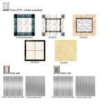 Glatter Betrieb-Ausgangslandhaus-Wohnhöhenruder mit Otis-Qualität Dk1000