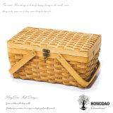 Panier en osier de mémoire fabriquée à la main de qualité de Hongdao avec Eco-Friendly_D