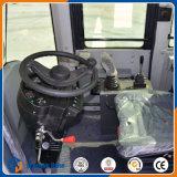 Mini cargador de la rueda con el Trencher y el tirón rápido