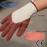 Nmsafety 3/4 покрытых перчаток безопасности предохранения от руки латекса
