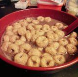 linha de produção dos petiscos do cereal de pequeno almoço