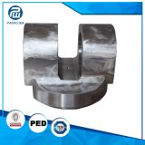 CNC da precisão que faz à máquina peças sobresselentes da maquinaria agricultural