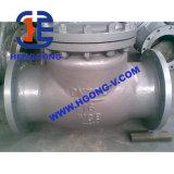 Valvola di ritenuta dell'acciaio inossidabile della flangia dell'oscillazione dell'olio dell'acqua di ANSI/API/DIN