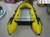 PVC/PVC Material//Hypalon/Hypalon Material/Wasser-Taxi mit Fußboden/Aluminiumvorstand (HSD 2.3-4.6m)