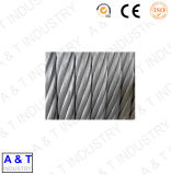 Cable de alambre galvanizado caliente de la venta con la alta calidad para levantar y levantar