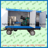 Nettoyeur industriel à haute pression de pression d'eau de machine de nettoyage de tube