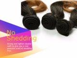 Seidige gerade Webart 8 Zollbrown-Farben-brasilianisches Jungfrau-Haar