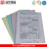 Papier A4 préimprimé par ordinateur digne de confiance de fournisseur de la Chine
