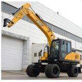 Sany Sy155 15 toneladas sobre orugas Maquinaria de movimiento de tierras RC excavadora hidráulica para la venta
