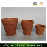 Sostenedor de cerámica de la arcilla Al aire libre-Natural grande