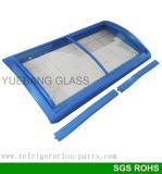 Surgelatore di vetro del portello per il supermercato