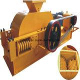 Triturador de pedra duro médio. Triturador de rolo dobro