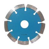Soldadura láser segmentado diamante circular de piedra Hoja de sierra