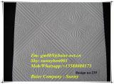 telha laminada PVC do teto da gipsita 2016competitive (595/603mm*7mm)