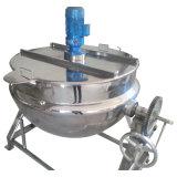 Acier inoxydable sanitaire de nourriture inclinant le type bac de cuisson à la vapeur