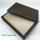 Contenitore impaccante Handmade di legno operato di contenitore di regalo della visualizzazione della vigilanza
