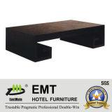 Table basse de modèle de rectangle de conception moderne de modèle chinois longue (EMT-CT03)