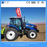 Alimentador de granja agrícola del estilo de John Deere de la alta calidad con el motor 125HP de la potencia de Weichai