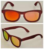 Personalizou seu próprio Eyeglass de madeira/de bambu polarizado logotipo com a lente diferente de Revo (BY-06)