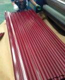 Il colore di Tinct ha ricoperto lo strato preverniciato del tetto della lamiera di acciaio per le mattonelle
