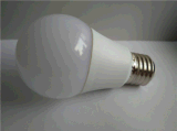 Bulbo do diodo emissor de luz E27, 5W-12W, Plastic&Aluminum
