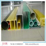 HのビームI型梁のケーブル・トレーのPultrudedのガラス繊維はFRP GRPのプロフィールの側面図を描く